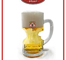 Pilsner beer by clickme