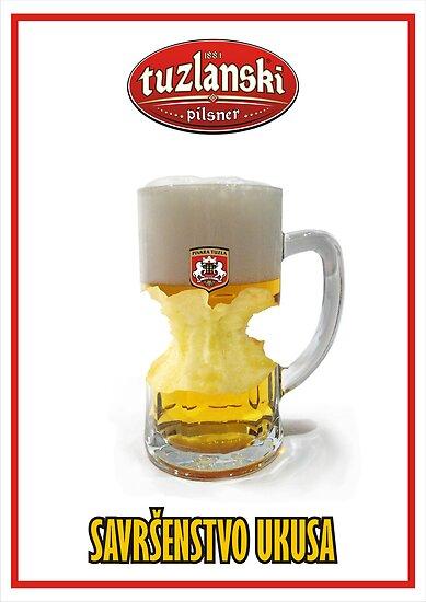 Pilsner beer by clickme