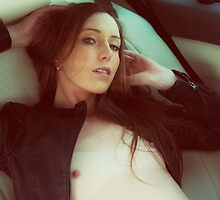 Drive - nude art, sexy erotic cute girl, pretty hot fashion fun calm by AllArtIsErotic