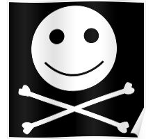 Jolly Roger Smiley Poster