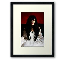 Gothic Bride Framed Print