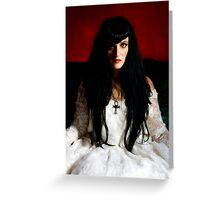Gothic Bride Greeting Card