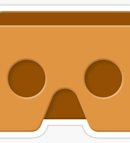 Google Cardboard - virtual reality Sticker
