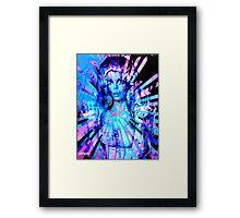 Psychedelic Barbie Framed Print