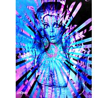 Psychedelic Barbie Photographic Print