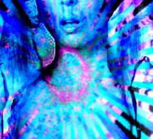 Psychedelic Barbie Sticker