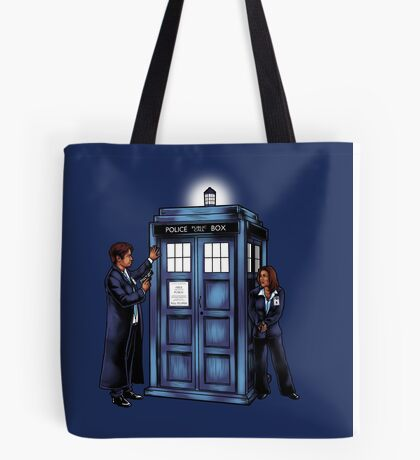 The Agents have the Phone Box Tote Bag