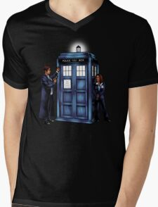The Agents have the Phone Box Mens V-Neck T-Shirt