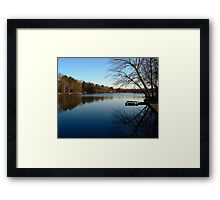 Twilight Blue Framed Print