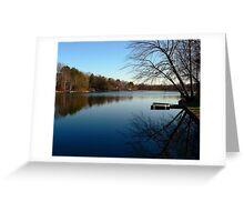 Twilight Blue Greeting Card