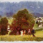 Walking In Bavaria by Kenneth Hoffman