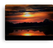 Sun-Up Canvas Print