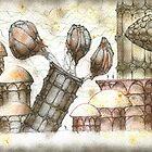 New Pisa City II by Daniele Lunghini