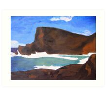 Relaxation Sea Art Print