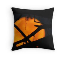 The Moon In The Morning Throw Pillow