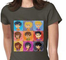 Demigods Pattern Womens Fitted T-Shirt