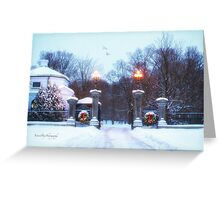 At Christmas Time Greeting Card