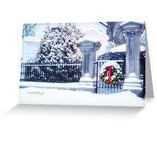 Glad Tidings for Christmas Greeting Card
