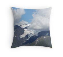 River of Ice - Alaskan Glacier Throw Pillow