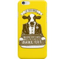 4/20 Vegan Mac and Cheese Bake Off iPhone Case/Skin