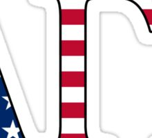 Alpha Gamma Rho America Sticker