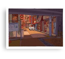 Under the station Canvas Print