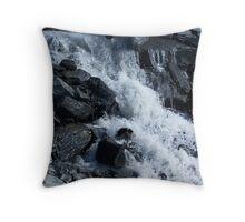 Glacier Water Throw Pillow
