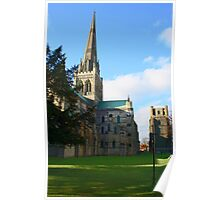 Chichester Cathedral and Bell Tower Poster