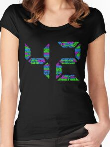 42, The Meaning of Life Women's Fitted Scoop T-Shirt