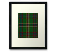 00344 Westmeath District Tartan  Framed Print