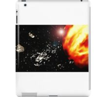 Space frontier iPad Case/Skin