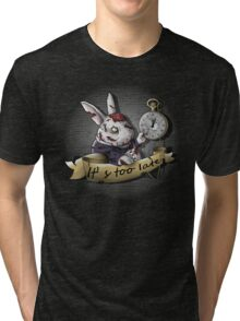 The White Zombie Rabbit Tri-blend T-Shirt
