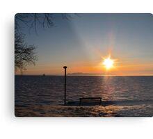 Northern Ontario Sunrise Metal Print