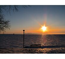 Northern Ontario Sunrise Photographic Print