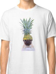 Pug Pineapple Classic T-Shirt