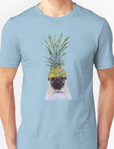 Pug Pineapple Unisex T-Shirt