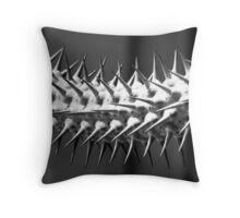 Thorns b&w Throw Pillow