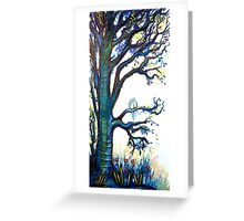 Contentment - Trees Greeting Card