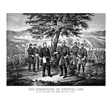 The Surrender Of General Lee -- Civil War Photographic Print