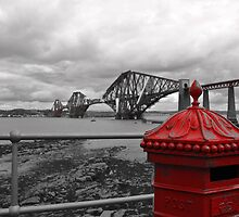 Red Postbox by Martina Fagan