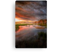 Earlier that Night Canvas Print