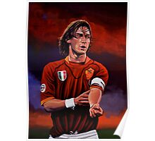 Francesco Totti painting Poster