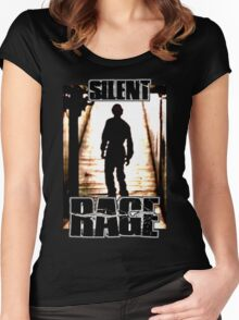 Silent Rage! Women's Fitted Scoop T-Shirt
