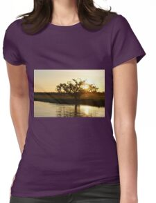 Boating on Kakadu Womens Fitted T-Shirt