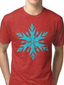 Frozen Fractals Tri-blend T-Shirt