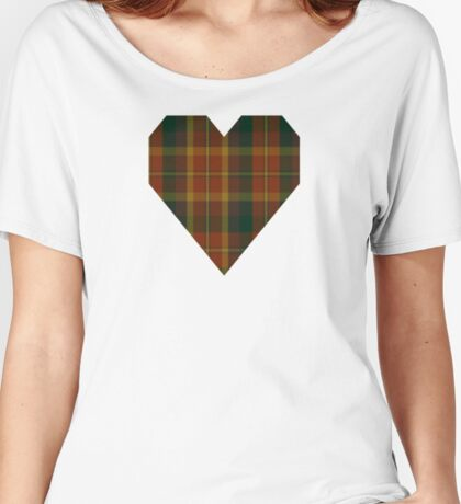 00347 Monaghan County District Tartan Women's Relaxed Fit T-Shirt