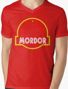Mordor Park Mens V-Neck T-Shirt