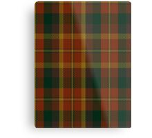 00347 Monaghan County District Tartan Metal Print
