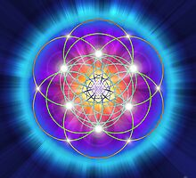 Sacred Geometry 25 by Endre