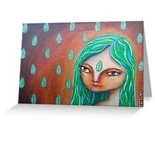 Elemental Goddess of Earth Greeting Card